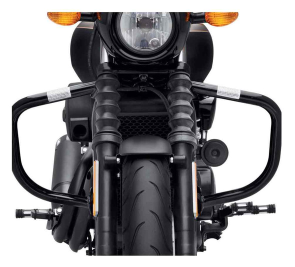 Harley-Davidson Engine Guard - Gloss Black, Fits 15-later XG Models 49000047B - Wisconsin Harley-Davidson