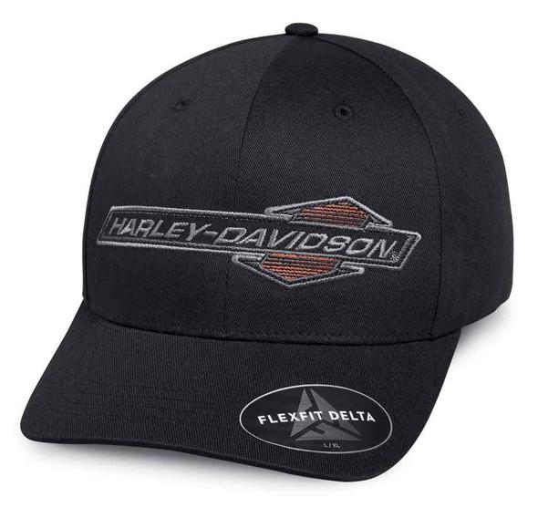 Harley-Davidson Men's Performance Arrow Cap with Delta Technology Blk 97645-18VM - Wisconsin Harley-Davidson