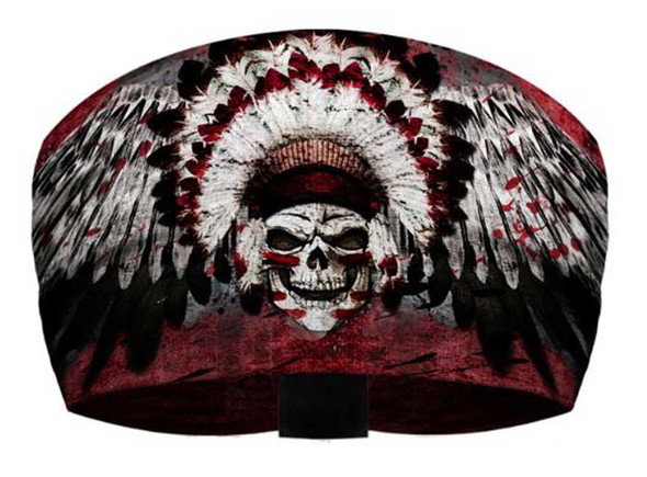That's A Wrap Men's Winged Chief Skull Performance Knotty Band Headwrap KB1322 - Wisconsin Harley-Davidson