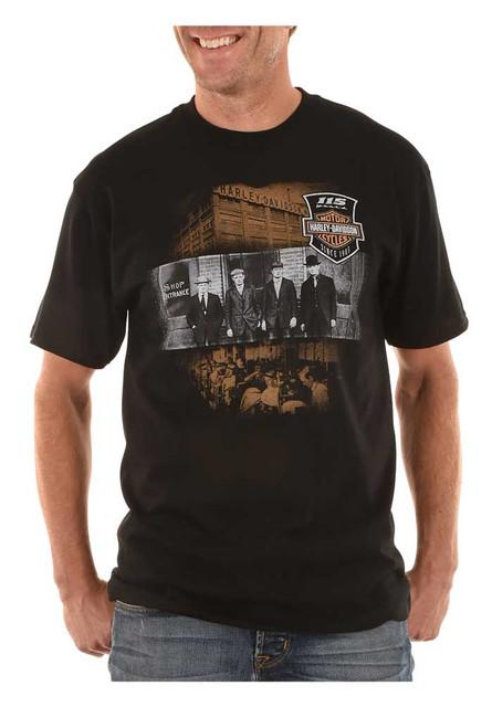 Harley-Davidson Men's 115th Anniversary V-Twin Satisfaction Short Sleeve T-Shirt - Wisconsin Harley-Davidson