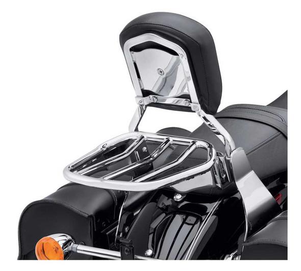 Harley-Davidson Custom Tapered Sport Luggage Rack - Chrome, Multi-Fit 50300030 - Wisconsin Harley-Davidson
