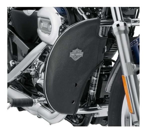 Harley-Davidson Soft Lowers, Fits 04-later XL Models - Black 57100211 - Wisconsin Harley-Davidson