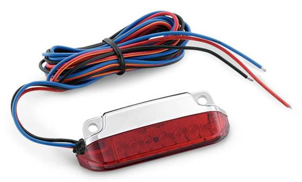 Harley-Davidson Fast-Acting LED Light Kit - Red Lens, Multi-Fit Item 68000076 - Wisconsin Harley-Davidson