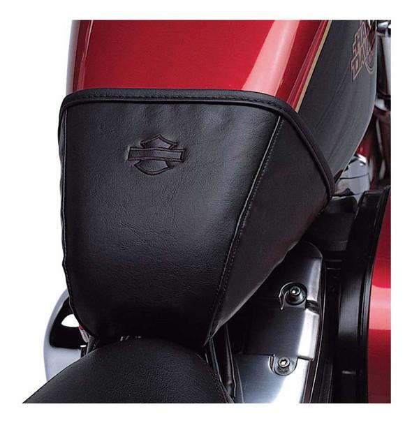 Harley-Davidson Tank Bra, Fit XL Models w/ 3.3 Gallon Fuel Tank - Black 62030-04 - Wisconsin Harley-Davidson