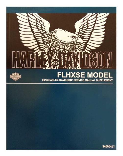 Harley-Davidson 2018 FLHXSE Supplement Models Motorcycle Service Manual 94000457 - Wisconsin Harley-Davidson