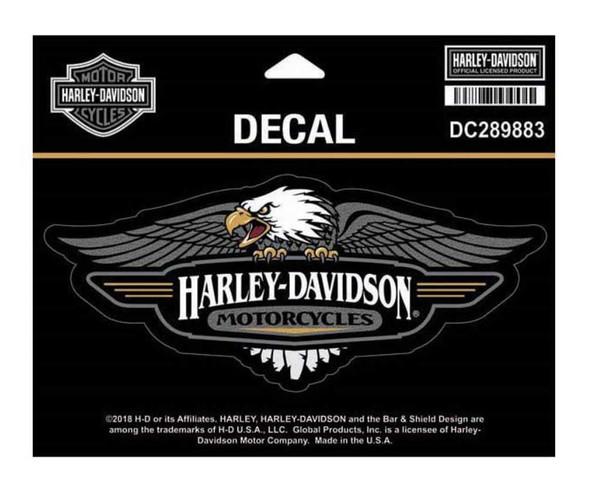 Harley-Davidson Vintage Eagle Logo Decal, MD Size - 6 x 2.5 inches DC289883 - Wisconsin Harley-Davidson