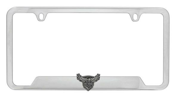 Harley-Davidson 115th Anniversary 3D Emblem License Plate Frame HDLFE115 - Wisconsin Harley-Davidson