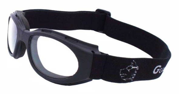 Guard-Dogs Unisex Flexor II Clear FogStopper Goggles, Matte Black 009-11-01 - Wisconsin Harley-Davidson