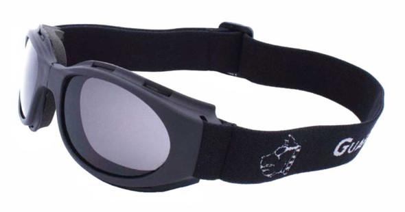 Guard-Dogs Unisex Flexor II Smoke FogStopper Goggles, Matte Black 009-12-01 - Wisconsin Harley-Davidson