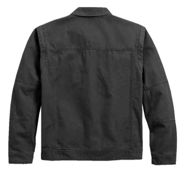 Harley-Davidson Men's Convertible Garage Casual Jacket, Gray 97461-18VM - Wisconsin Harley-Davidson