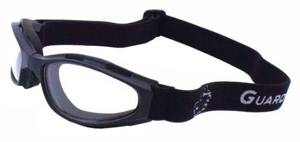 Guard-Dogs Unisex Flexor Clear FogStopper Goggles, Matte Black 005-11-01 - Wisconsin Harley-Davidson