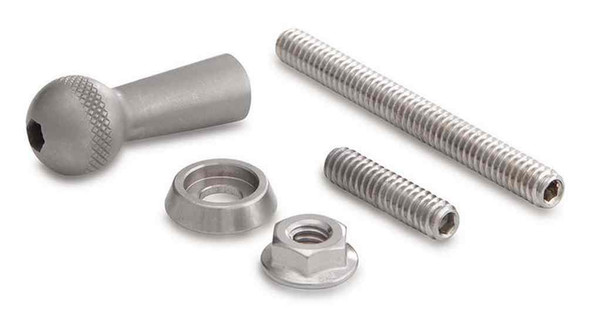 Ciro Universal Ball/Stud Mount, Fits 1/4 in. Hole or 1/4-20 Threaded Bolt 50118 - Wisconsin Harley-Davidson