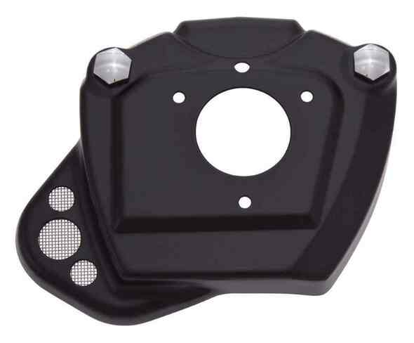 Ciro Throttle Body Servo Cover, Fits 08-16 H-D Touring Models - Black 35130 - Wisconsin Harley-Davidson