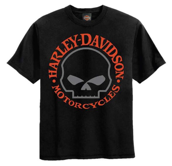 Harley-Davidson Big Boys' Willie G Skull Short Sleeve Tee, Black 1590742 - Wisconsin Harley-Davidson
