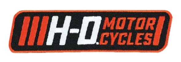 Harley-Davidson Embroidered Traction H-D Emblem Patch, 4 x 1.0625 in EM315662 - Wisconsin Harley-Davidson