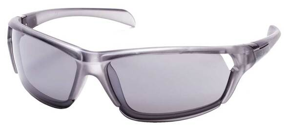 Harley-Davidson Men's Half Rim Vented Lens Sunglasses, Gray/Smoke Mirror Lenses - Wisconsin Harley-Davidson