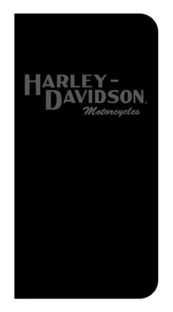 Harley-Davidson Debossed Script iPhone 8/7/6S/6 Plus Folio Phone Case Black 7862 - Wisconsin Harley-Davidson