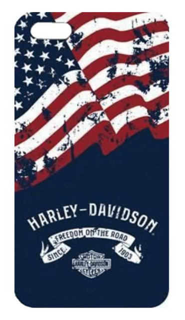 Harley-Davidson Americana iPhone 8/7/6S/6 Two Piece Phone Shell, Navy 7856 - Wisconsin Harley-Davidson