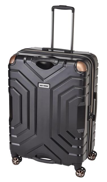 "Harley-Davidson 30"" Polycarbon Luggage w/ Double Shark Wheels 99731 BLACK - Wisconsin Harley-Davidson"