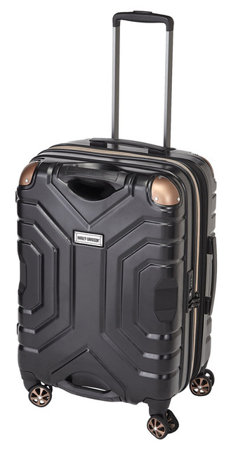 "Harley-Davidson 25"" Polycarbon Luggage w/ Double Shark Wheels 99725 BLACK - Wisconsin Harley-Davidson"