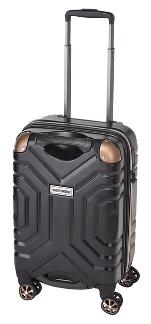"Harley-Davidson 22"" Polycarbon Luggage w/ Double Shark Wheels 99723 BLACK - Wisconsin Harley-Davidson"