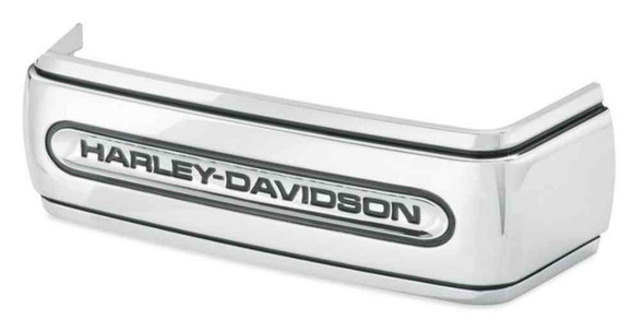 Harley-Davidson Chrome Script Battery Cover Band, Fit 06-17 Dyna Models 66443-06 - Wisconsin Harley-Davidson