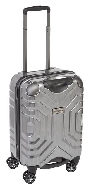 "Harley-Davidson 22"" Polycarbon Luggage w/ Double Shark Wheels 99723 SILVER - Wisconsin Harley-Davidson"