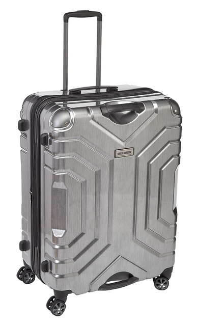 "Harley-Davidson 30"" Polycarbon Luggage w/ Double Shark Wheels 99731 SILVER - Wisconsin Harley-Davidson"