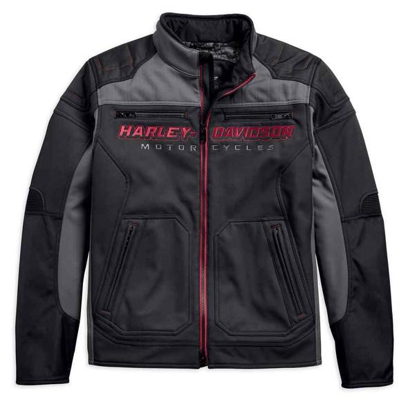 Harley-Davidson Men's Endrino Riding Functional Jacket, Black 97141-19VM - Wisconsin Harley-Davidson