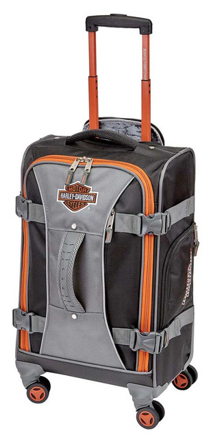 "Harley-Davidson 22"" Independence Pass Carry-On Luggage 99122-RUST/BLACK - Wisconsin Harley-Davidson"