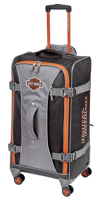 "Harley-Davidson 28"" Independence Pass Pullman Luggage 99128-RUST/BLACK - Wisconsin Harley-Davidson"