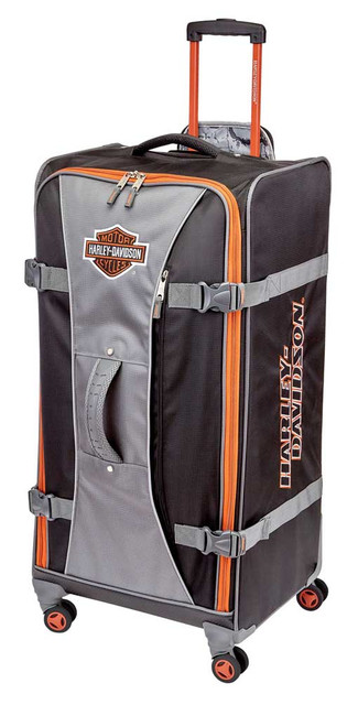 "Harley-Davidson 33"" Independence Pass Pullman Luggage 99134-RUST/BLACK - Wisconsin Harley-Davidson"