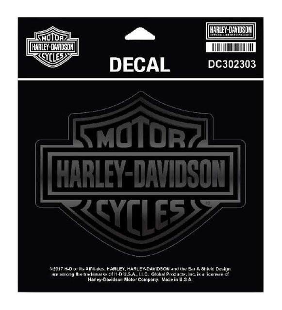 """Harley-Davidson Matte & Gloss Bar & Shield Decal, Size 5.25"""" x 4.125"""", DC302303 - Wisconsin Harley-Davidson"""