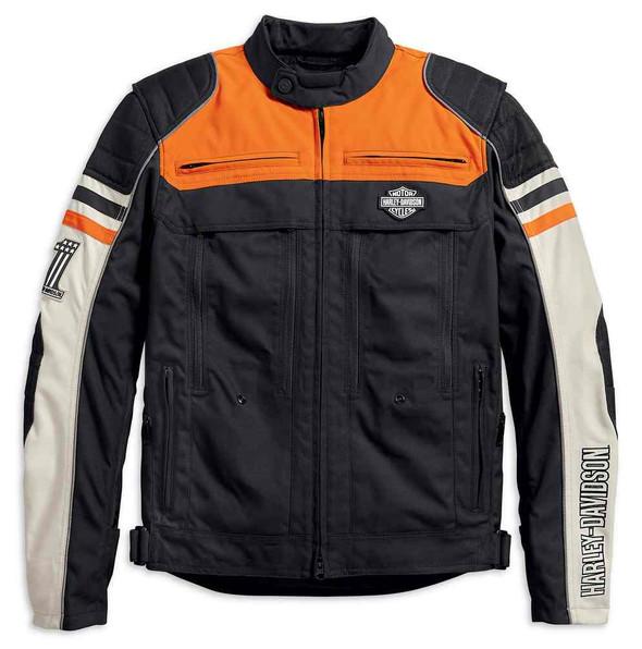 Harley-Davidson Men's Metonga Switchback Lite Riding Jacket, Black 98393-19VM - Wisconsin Harley-Davidson