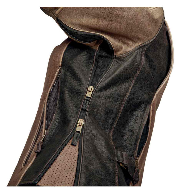 Harley-Davidson Women's Triple Vent System Gallun Leather Jacket 98066-19VW - Wisconsin Harley-Davidson