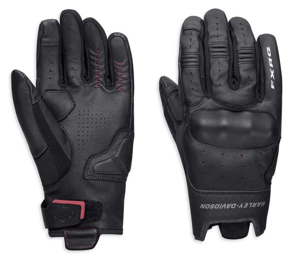 Harley-Davidson Men's FXRG Lightweight Full-Finger Gloves, Black 98387-19VM - Wisconsin Harley-Davidson