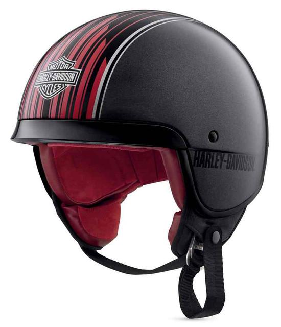 Harley-Davidson Men's Knab B09 5/8 Helmet w/ Tri-Matrix Shell 98351-19VX - Wisconsin Harley-Davidson