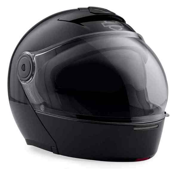 Harley-Davidson Men's Myer J08 Fiberglass Modular Helmet, Silver 98363-19VX - Wisconsin Harley-Davidson