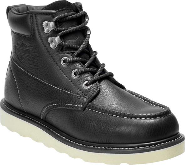 Harley-Davidson® Men's Bosworth Black or Brown Safety Toe Boots D93573 D93574
