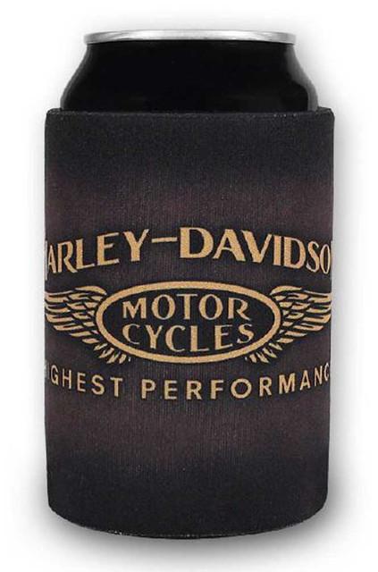 Harley-Davidson Highest Performance H-D Neoprene Can Wrap - Brown CW33668 - Wisconsin Harley-Davidson
