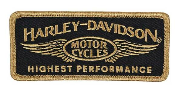 Harley-Davidson Embroidered Highest Performance Emblem Patch, SM Size EM336772 - Wisconsin Harley-Davidson