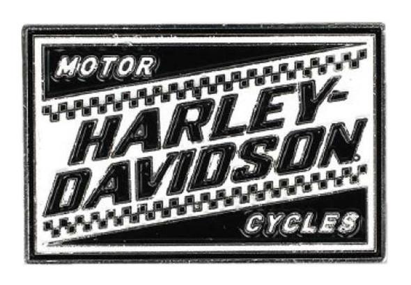 Harley-Davidson 2D Die Cast Ignition Pin w/ Enamel Fill & Silver Plating P334882 - Wisconsin Harley-Davidson