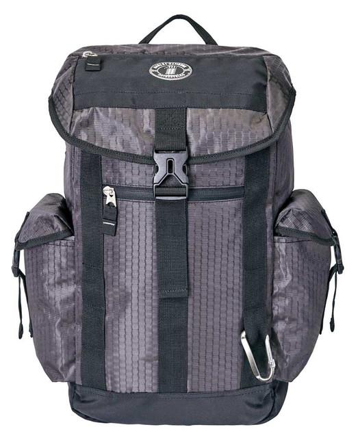 Harley-Davidson Graphite Honeycomb Tech Backpack, Water-Resistant - Gray 99120 - Wisconsin Harley-Davidson