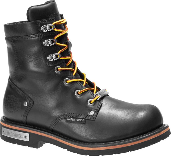 Harley-Davidson Men's Hamerton 6.5-Inch Waterproof Motorcycle Boots, D93585 - Wisconsin Harley-Davidson