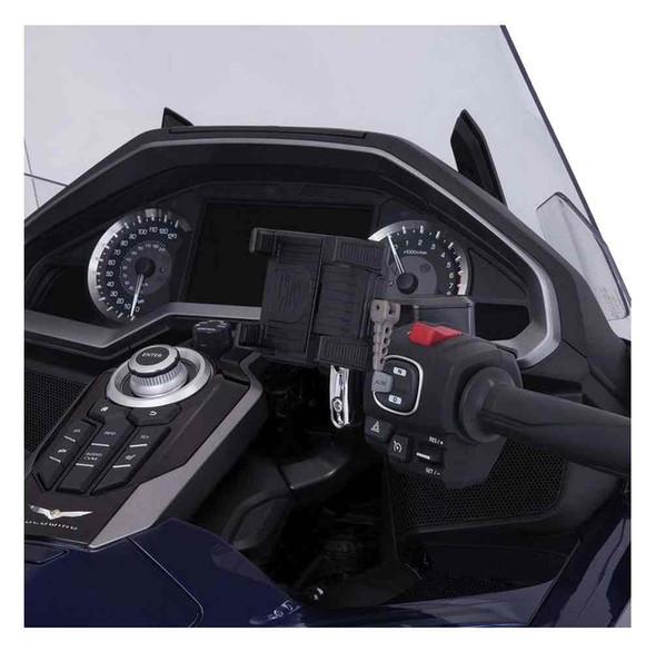 Ciro Goldstrike Right Side Smartphone Holder w/ Accessory Mount 58310-58319 - Wisconsin Harley-Davidson