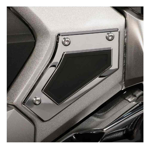 Ciro Goldstrike Swingarm Pivot Covers for Gold Wing, Chrome or Black 78110-78111 - Wisconsin Harley-Davidson
