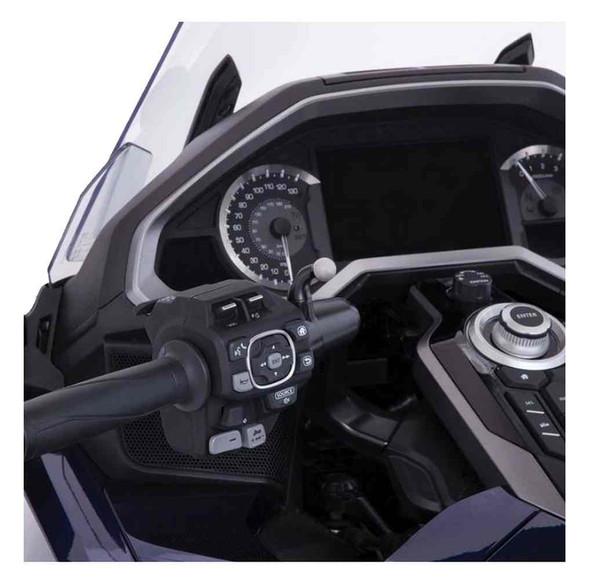 Ciro Goldstrike Left Side Accessory Mount for DCT Models, Black Finish 58111 - Wisconsin Harley-Davidson