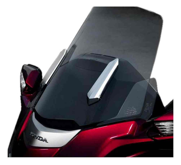 Ciro Goldstrike TWINART Windshield Strut Covers - Chrome Finish Plastic 18100 - Wisconsin Harley-Davidson