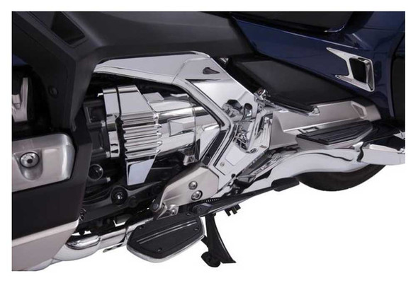 Ciro Goldstrike Engine Covers - Chrome, Fits 2018-up Gold Wing Models 78500 - Wisconsin Harley-Davidson