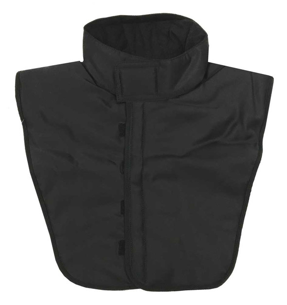 Redline Leather Unisex Chest Winter Warmer, Solid Black Fleece & Nylon 7051 - Wisconsin Harley-Davidson